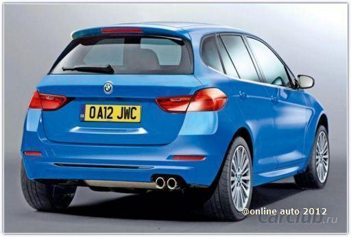 Переднеприводные BMW - от слухов к реальности: BMW 1 Series GT