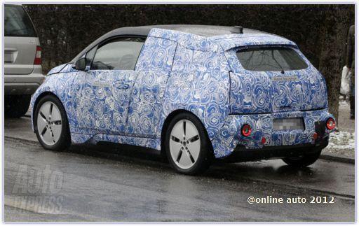 Сити-кар BMW i3 готовится к выходу в серию
