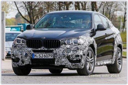 BMW X6 нового поколения проходит испытания в Мюнхене