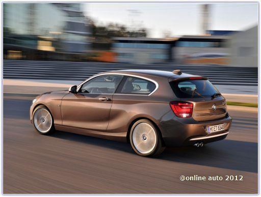 трехдверное исполнение BMW 1 Series