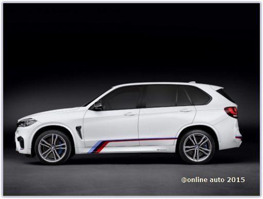 BMW подготовила пакет M Performance для X6M и X5M нового поколения