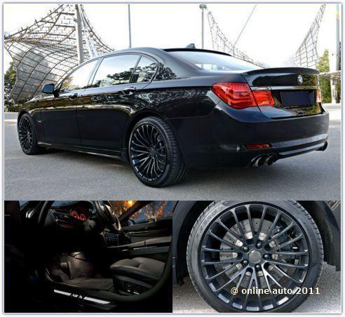 BMW 750Li с доработками NR Motors