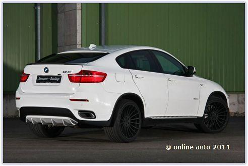 BMW X6 xDrive40d от тюнеров  Senner