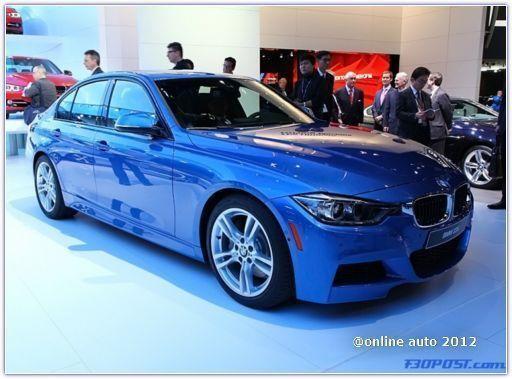 BMW ActiveHybrid 3 на NAIAS 2012