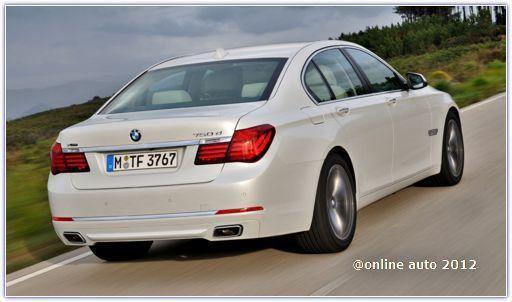 Рестайлинговый седан BMW 7 Series