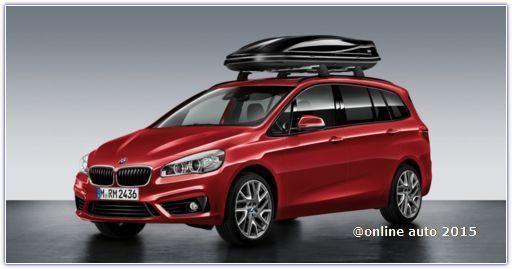 BMW официально представила компактвэн 2 Series Gran Tourer