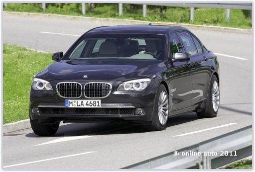 BMW 750Li High Security