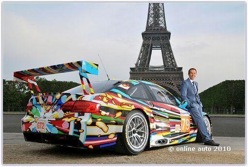 Париж Art Car BMW