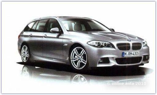 BMW 5 Series Touring c спортивным пакетом