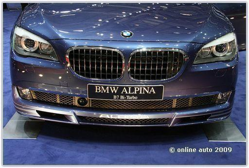 BMW Alpina B7 Bi-Turbo.