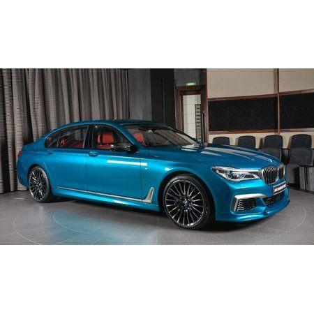 BMW M760Li Individual Long Beach Blue