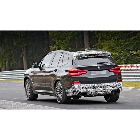 BMW X3 M получит пакет Competition