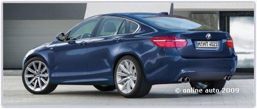 Progressive Activity Sedan  - так пишется новое название авто от BMW / В нем есть что-то от X6.