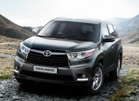 Цены на Toyota HighLander 2014 года