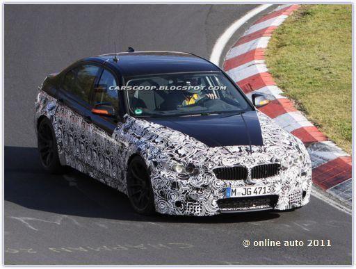 BMW M3 на трассе Нюрбургринга