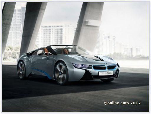 Пекин 2012 станет точкой отсчета для родстера i8