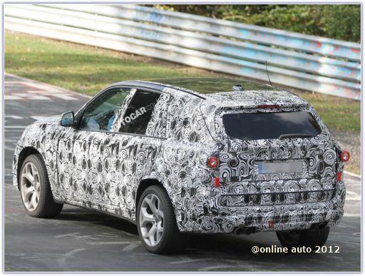 Автомобиль BMW X5 M нового поколения проходит испытания на трассе в Нюрбургринге