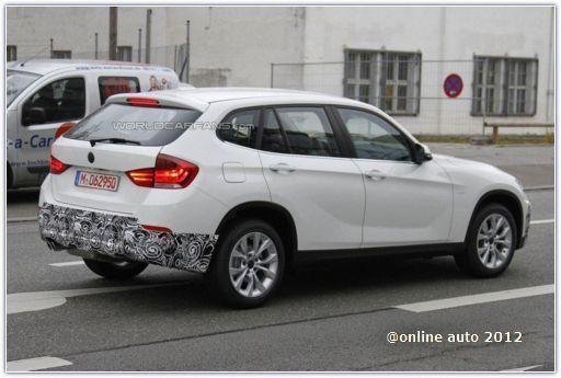 прототип рестайлингового BMW X1