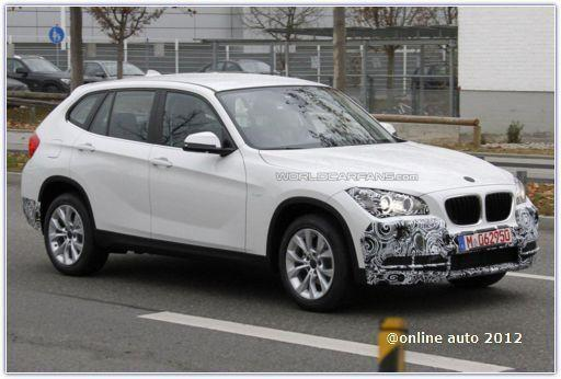 рестайлинговый BMW X1