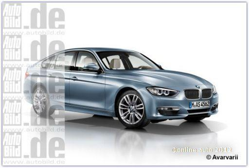 рендер BMW 3 Series Gran Turismo