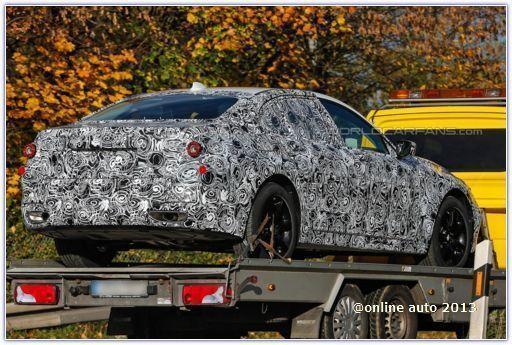 Шпионские фото BMW 5 Series седьмого поколения