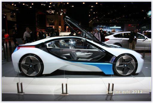 концепт BMW i8 во Франкфурте
