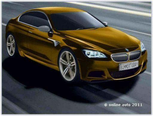 Рендеринг BMW M6 2013