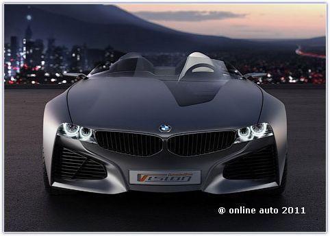 Концепт нового родстера BMW Vision ConnectedDrive