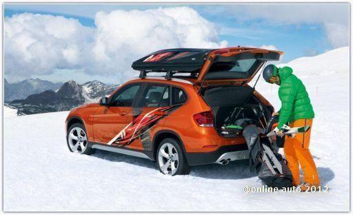 Концепт для горнолыжников - BMW Concept K2 Powder Ride