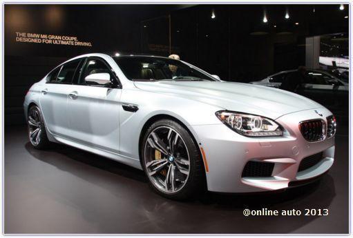 Новинки BMW на автошоу в Детройте: BMW M6 GranCoupe