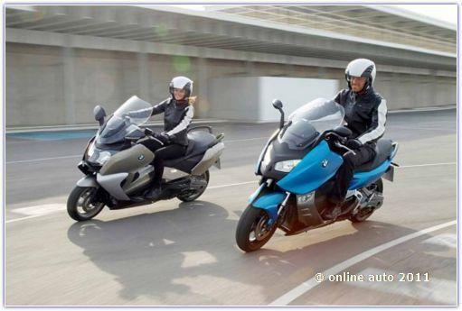 скутеры BMW