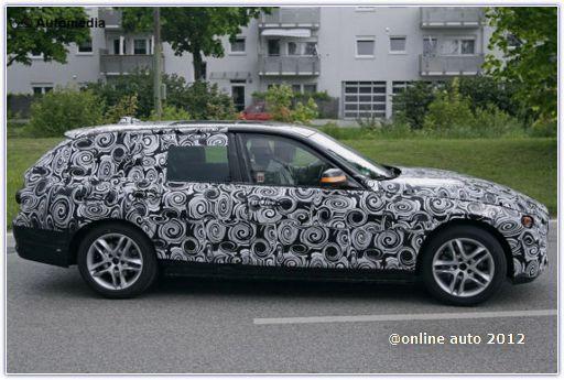 шпионские фото BMW 3 GT