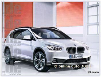 рендеры BMW X1