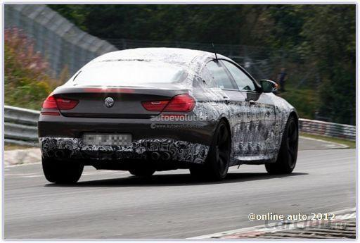 BMW M6 Gran Coupe снова в кадре