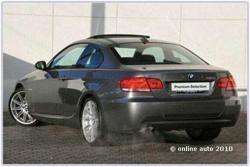 BMW 323i coupe 2009
