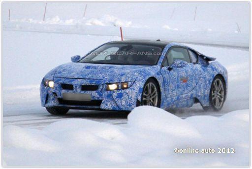 В 2013-м BMW начнет производство суперкара BMW i8