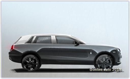 Модельный ряд Rolls-Royce пополнится внедорожником!