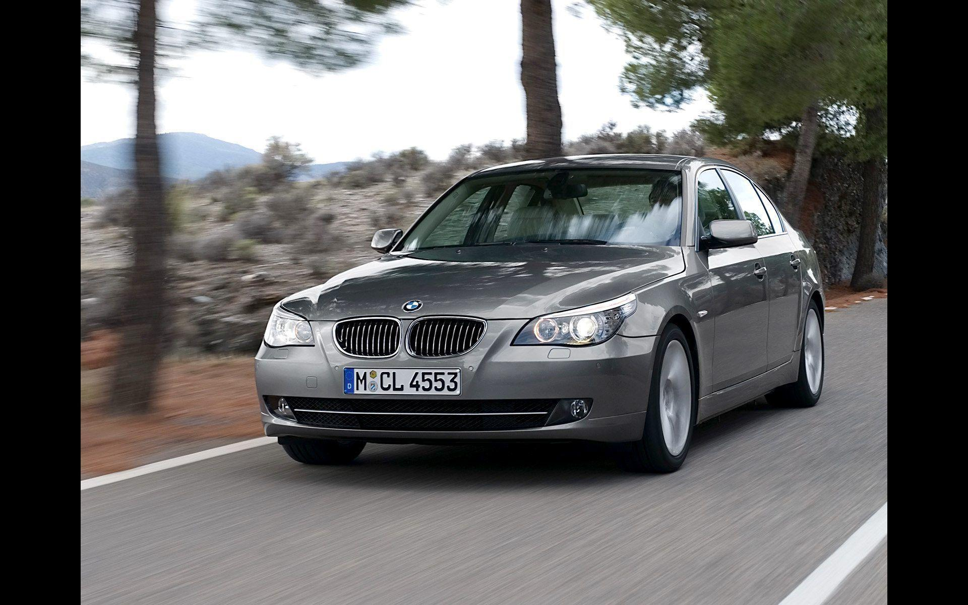 2008 BMW 5 Series Wallpaper 07 - 1920x1200