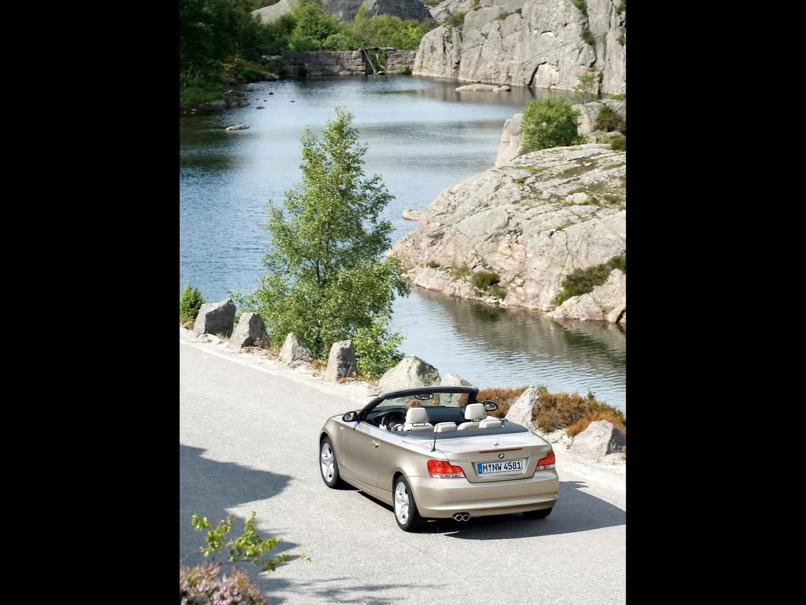 2008 BMW 1 Series Convertible Wallpaper 03 - 1600x1200
