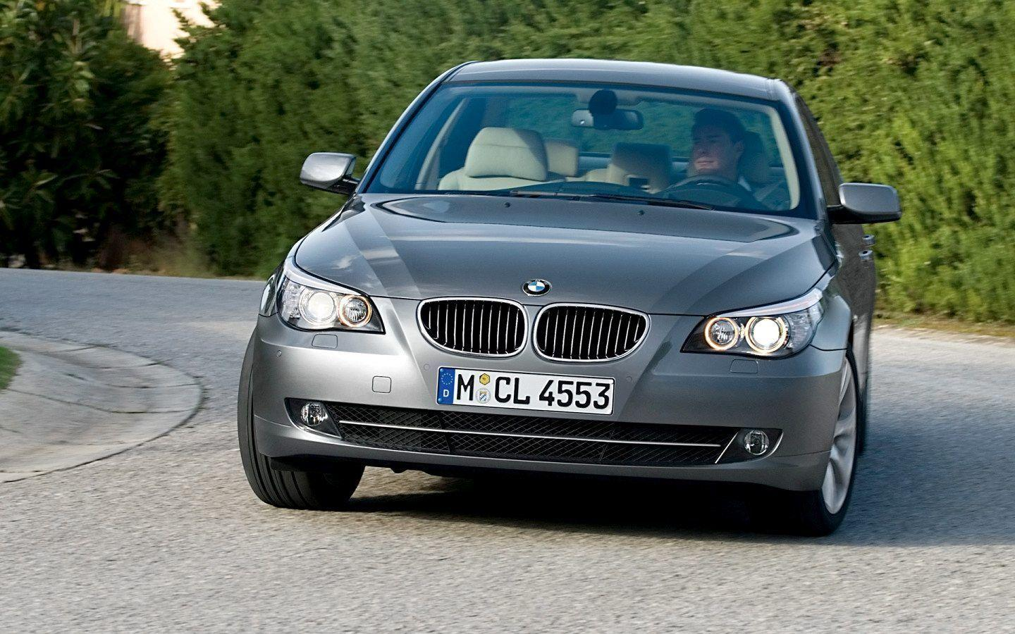 2008 BMW 5 Series Wallpaper 11 - 1440x900