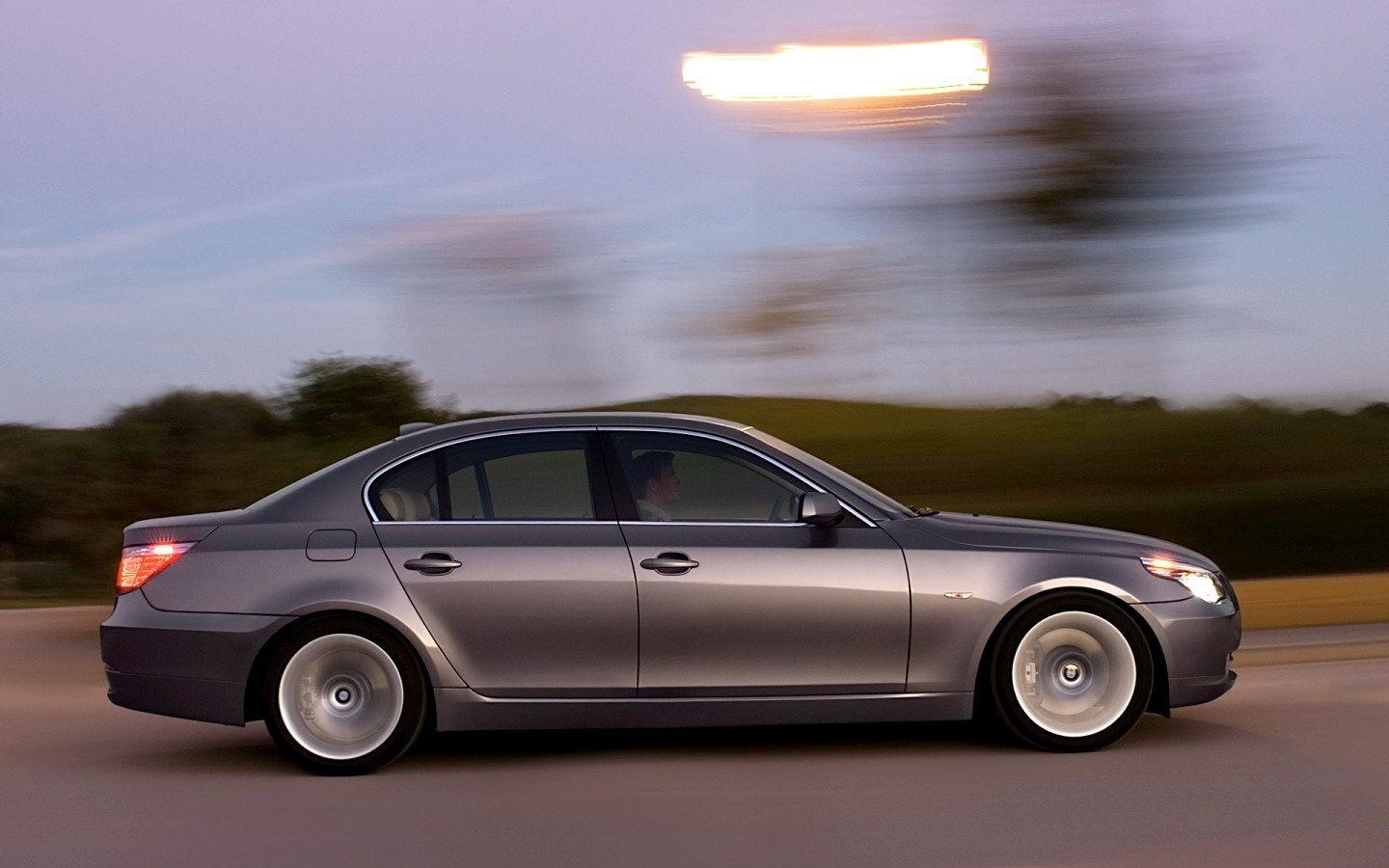 2008 BMW 5 Series Wallpaper 14 - 1440x900