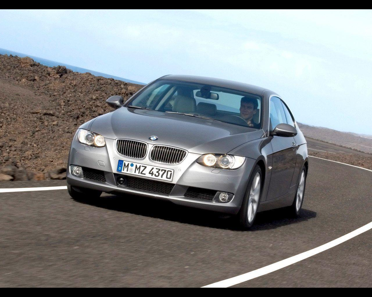 2007 BMW 335i Coupe Wallpaper 05 - 1280x1024