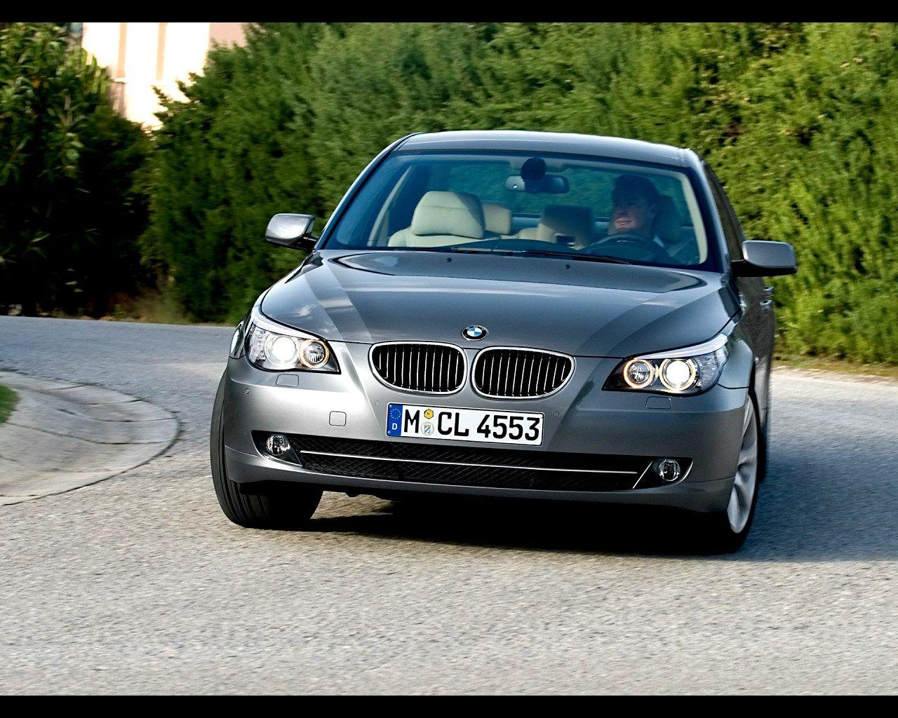 2008 BMW 5 Series Wallpaper 11 - 1280x1024