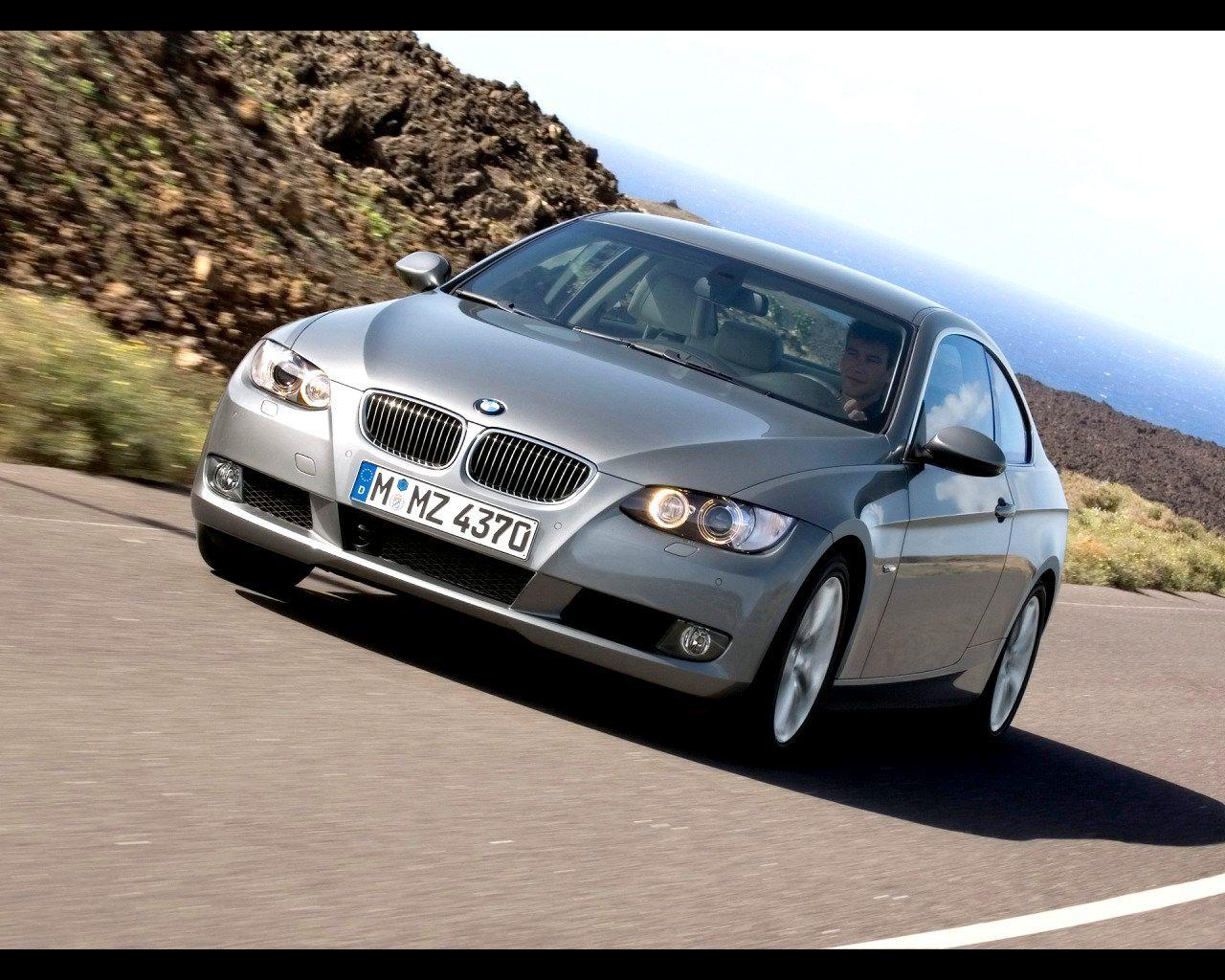 2007 BMW 335i Coupe Wallpaper 01 - 1280x1024