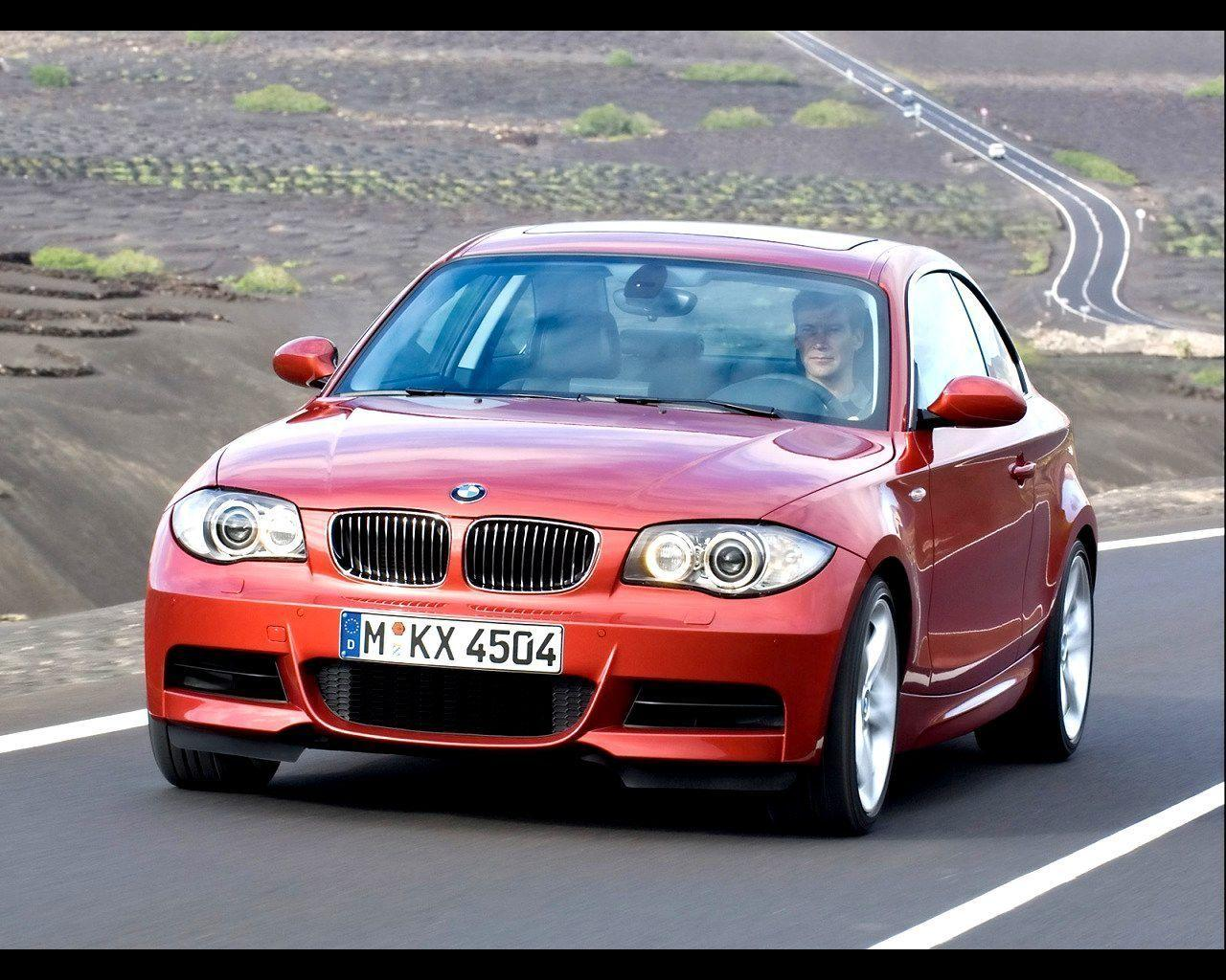 2008 BMW 1 Series Coupe Wallpaper 11 - 1280x1024