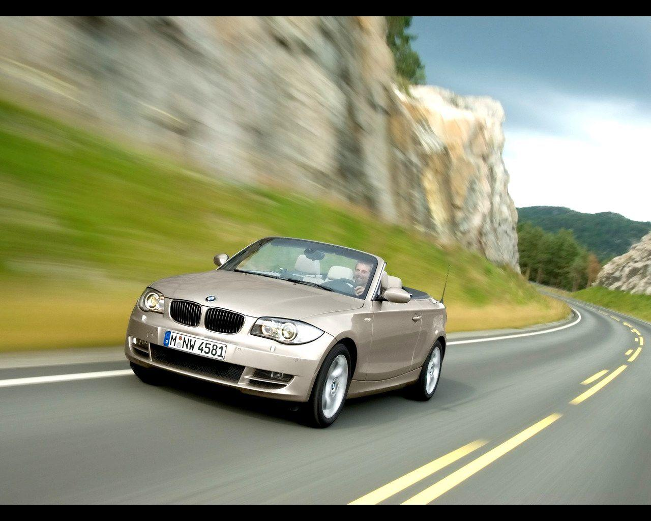 2008 BMW 1 Series Convertible Wallpaper 14 - 1280x1024