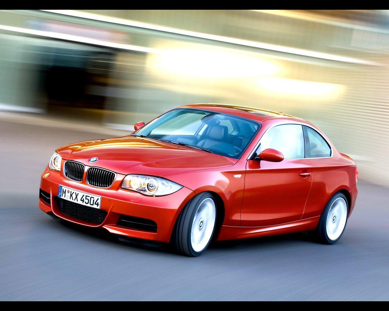 2008 BMW 1 Series Coupe Wallpaper 09 - 1280x1024