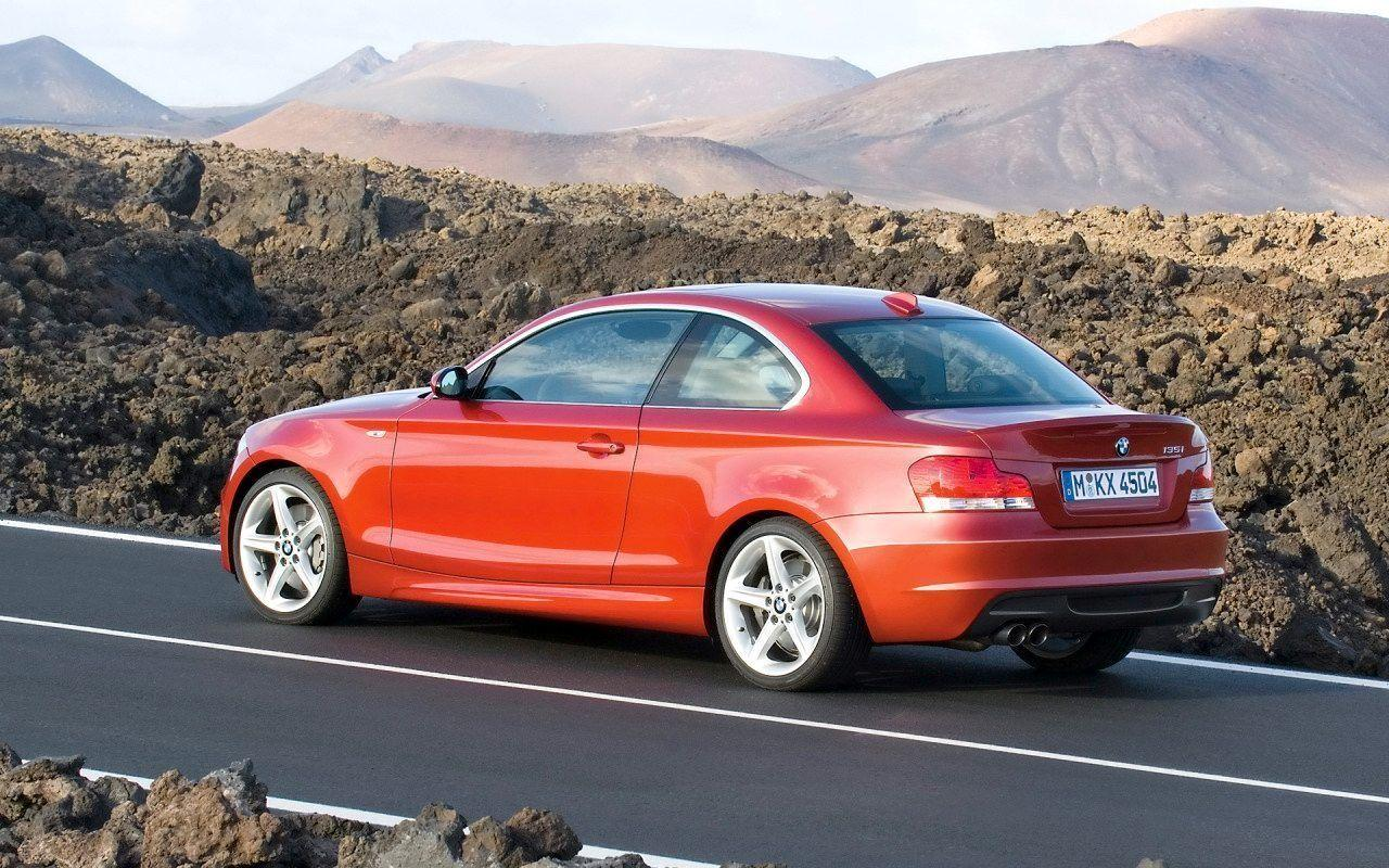 2008 BMW 1 Series Coupe Wallpaper 21 - 1280x800