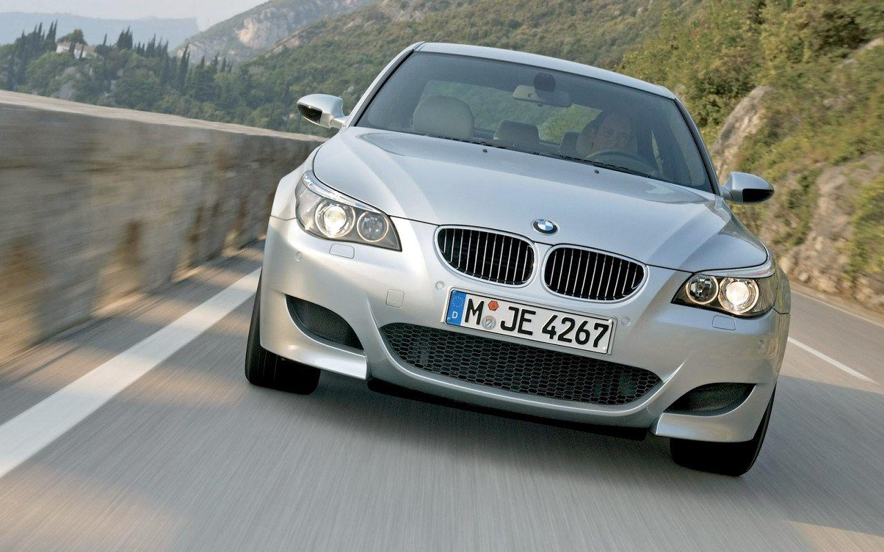 2005 BMW M5 Wallpaper 09 - 1280x800