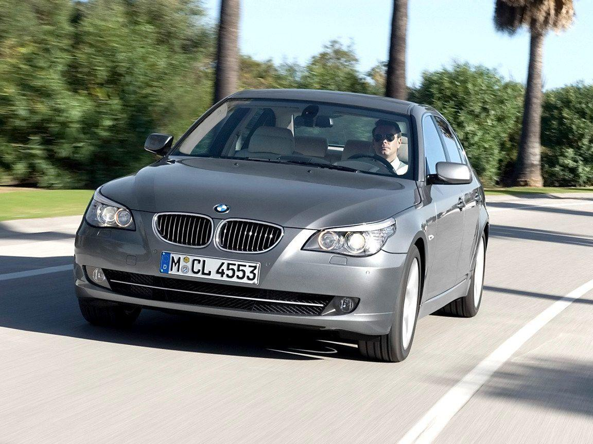 2008 BMW 5 Series Wallpaper 06 - 1152x864